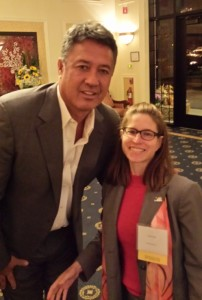 Judith Papo had the honor and privilege of introducing Ron Darling.