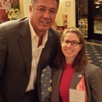 Judith Papo had the honor and privilege of introducing Ron Darling